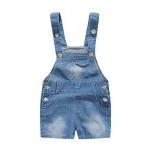 6 24 M font b Kids b font Baby Boy Overalls Denim font b Jeans b