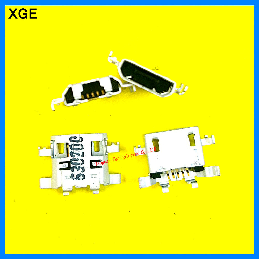 5pcs/lot XGE New USB Charging Port Dock Connector Repair Parts for Lenovo IdeaTab A5500 A5500-HV A8-50 high quality