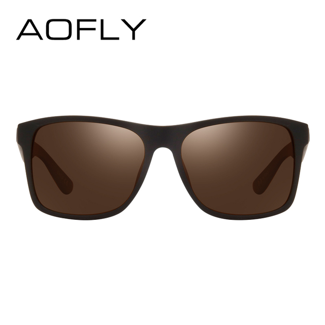 AOFLY BRAND DESIGN Night Vision Glasses Polarized Sunglasses Men Yellow Anti Glare Vintage Driving Sun Glasses Goggles UV400  2