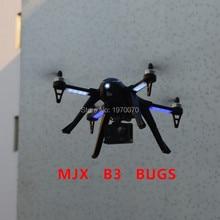 MJX B3 BUGS Brushless Motor 500 M jarak RC Drone Quadcopter Helikopter Dengan Bingkai Tahan Xiaoyi Sjcam HD kamera