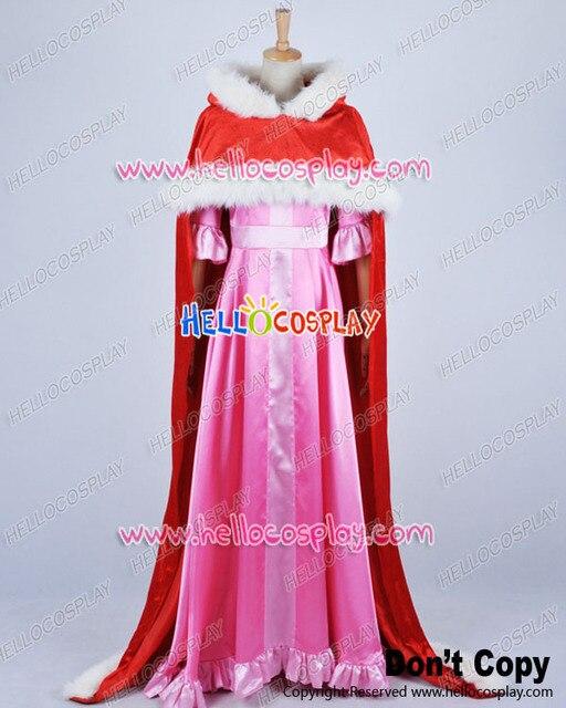 meilleur prix pour dans quelques jours modélisation durable € 108.88 8% de réduction|Belle et la bête Cosplay Belle Cape rouge robe  rose Costume H008 dans de sur AliExpress.com | Alibaba Group