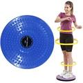 25*3cm Waist Wriggling Plate Twister Plate Twist Board Twisting Disc Slimming Leg Fitness Equipment Small Waist Abdomen Exercise