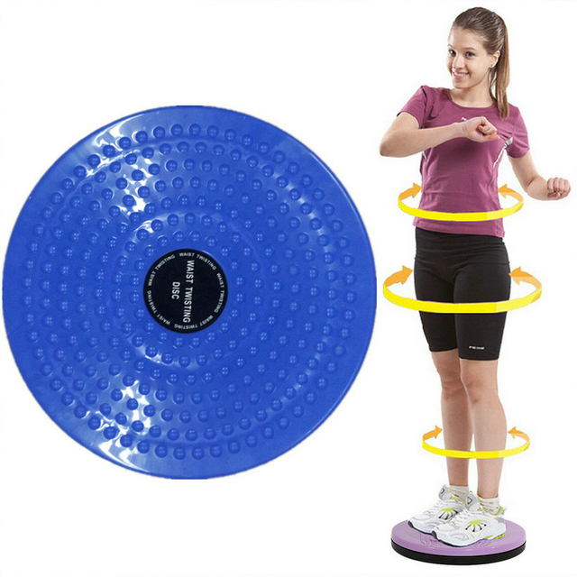 25*3cm Waist Wriggling Plate Twister Plate Twist Board Twisting Disc Slimming Leg Fitness Equipment Small Waist Abdomen Exercise