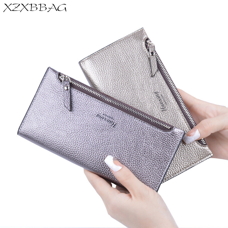 XZXBBAG Fashion Female Hasp Zipper Long Wallet Ladies Multiple Card Holder Envelope Purse Girls Thin Money Bag Lady Handbag xzxbbag fashion female zipper big capacity wallet multiple card holder coin purse lady money bag woman multifunction handbag