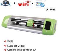 15 min резец винила Автоматический контурный Резка плоттер с Wi Fi и камера автоматически бесплатная доставка