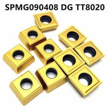 Tungsten Carbide SPMG090408 DG TT8020/9030 Insert Turning Tool Milling Cutter CNC SPMG 090408 DGTT8020/9030