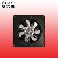 ITASFD-180 180mm İç rotor duvar endüstriyel mutfak tuvalet lâmba isi egzoz fanı güçlü rüzgar ücretsiz kargo metal çit