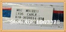 Оригинальный экран Ноутбука кабель для MSI PR200 PR210 MS12211 MS-1221 PR210X MS1222 PN: K19-3020014-H58