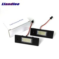 Liandlee For Alfa Romeo Giulietta 940 2010~2015 / LED Car License Plate Lights / Number Frame Light / High Quality LED Lamp