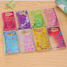 Dynamic Liquid Bling Star Quicksand capa Case for Samsung Galaxy A3 A5 A7 J1 J2 J3 J5 J7 2016 Grand Prime S5 S6 S7 Edge S8 Plus