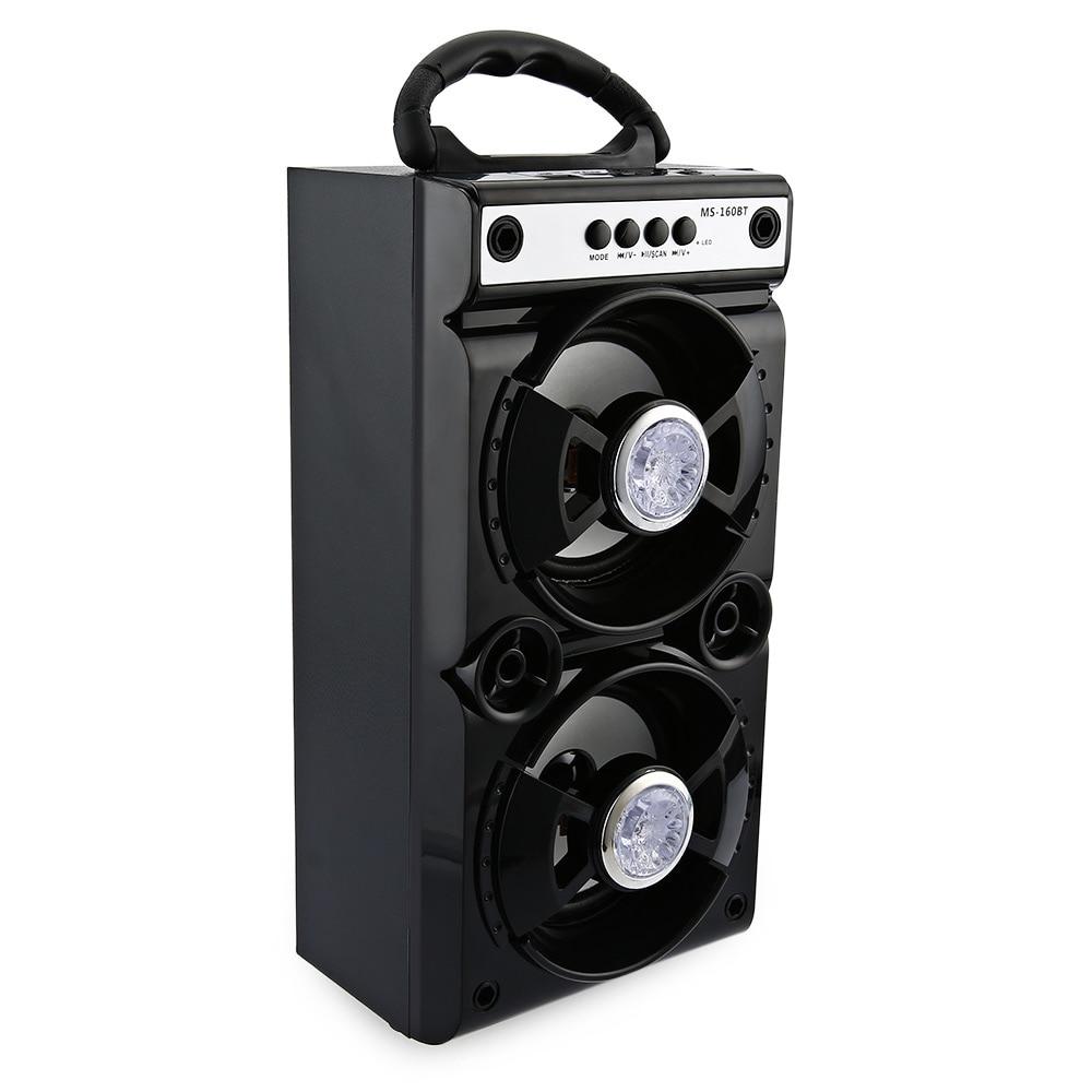 Mesuvida MS-160BT / MS-161BT Wireless Bluetooth Speaker 600mAh High Power Output FM Radio Music Player for MP3 TF/Micro SD
