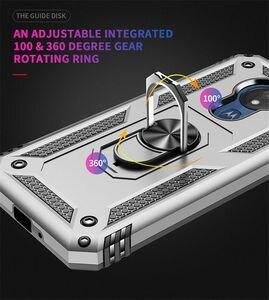 Image 4 - Per Motorola Moto G6 G7 Più G7 Potenza G8 Gioco di Caso Armatura Anello Magnetico Del Supporto Del Basamento Della Copertura per Moto G6 g7 Gioco E5 E6 Più Z4