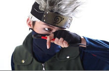 Naruto Kakashi Hatake Cosplay Face Mask for Halloween Party