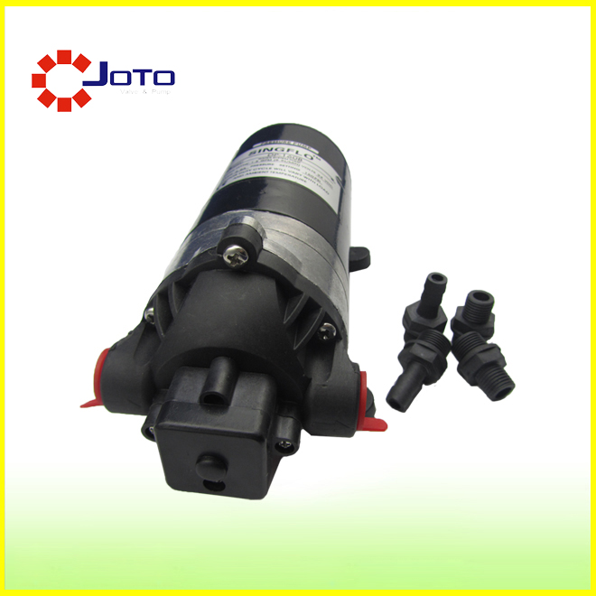 DP-80B DC24V Small Electrical Trailer Pump High Pressure Diaphragm Self-priming Pump Household Portable Car Wash Pump booster pump 12v dc boat accessory high pressure diaphragm water self priming pump l70323 drop ship