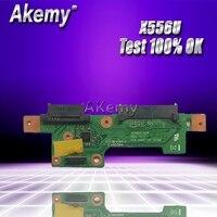 Akemy Original High quality PC For ASUS X556U X556UV X556UJ X556UV HDD BOARD X556UJ REV:3.1 100% Tested Fast Ship