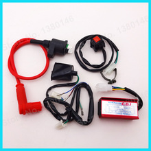 Racing Ignition Coil 5 Pin AC CDI Kill Switch Wirings Loom Harness For Chinese 50cc 110cc 125cc 150cc 160cc SSR Pit Dirt Bike