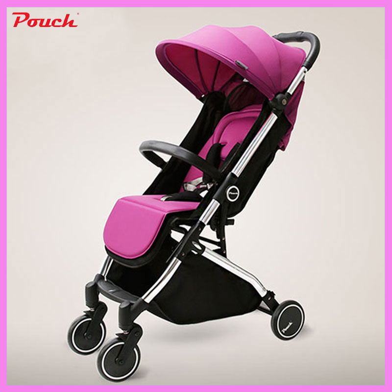 Pouch Baby Stroller Super Light Travel Car Umbrella Stroller Portable Baby Carriage Foldable Shock Resistant Baby Pushchair 0~3Y