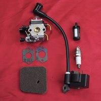 Carburetor Ignition Coil Kit For STIHL FS38 HS45 FS45 FS46 FS55 FC55 KM55 FS55 FS74 FS75 Bobine Carburador Trimmer Parts