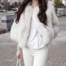 new blue fox fur coat womens Luxurious jacket winter short Free shipping to EMS Wholesale and retail/OEC TF0184