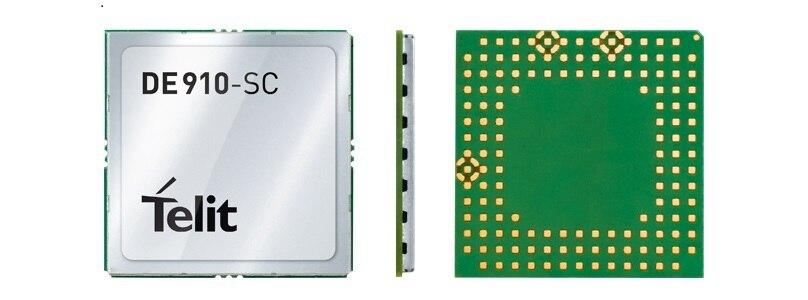 DE910-SC Telit 3G 100% New Genuine Distributor CDMA EV-DO Rev.A EMBEDDED Compact quad-band module 1PCS