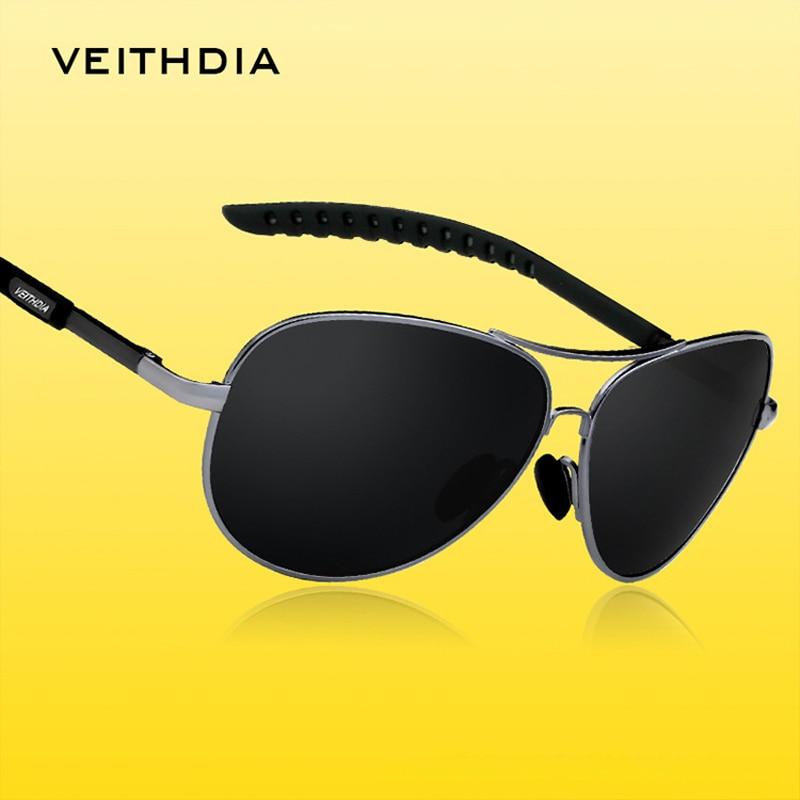 VEITHDIA Alloy Men Classic Sunglasses Polarized Lens Brand Designer Mirror Glasses Male Eyewears Oculos De Sol Masculino 3088