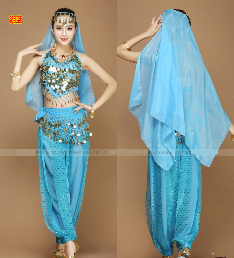 8aa309ed489c Women Halloween Cosplay Party Wedding Belly Dancer Aladdin Princess Jasmine  Costume Adults CO48175190(China ...