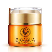 BIOAQUA Face Care Nutrition Horse Ointment Cream Moisturizing Whitening Anti-Aging Cream Anti Wrinkle Day Cream(China)
