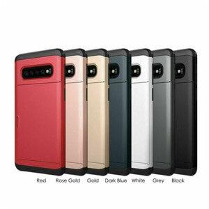 Image 5 - スライドカバー財布カードスロット三星銀河S10 プラスS20 S9 S8 注 20 超 10 プラス 5 グラム 9 8 S10e S7 S6 エッジプラスfunda
