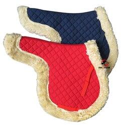 Британская выносливая седельная Подушка, длинная дикая Хан подушка, утолщенное седло конные принадлежности