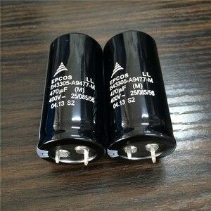Image 3 - 10pcs 470 미크로포맷 400V EPCOS B43305 시리즈 25x50mm 400V470uF PSU 알루미늄 전해 커패시터
