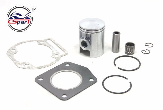 39MM 12MM Piston Ring Bearing  Gasket Kit Morini 50 50CC Mini Moto Dirt bike Cross