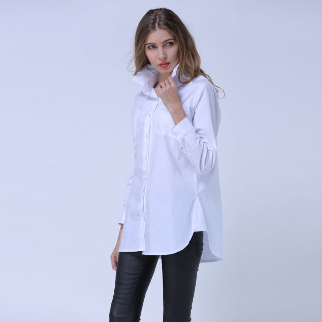 Aliexpress.com : Buy Women Blouse Shirt Oversized Blouses Long ...