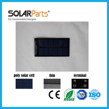 Solarparts 5pcs 62*120mm 6V/150mA  mini epoxy resin solar panel solar module used for educational toys LED light outdoor diy kit