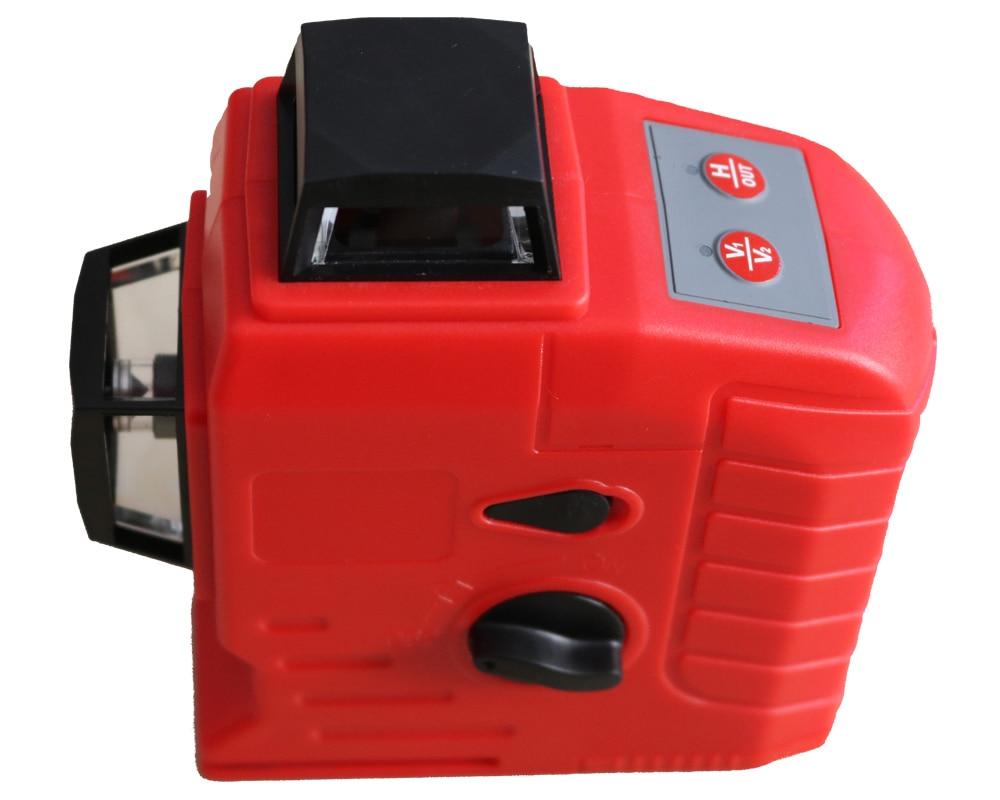 Здесь продается  2018 New 12Lines 3D Laser Level Self-Leveling 360 Horizontal And Vertical Cross Super Powerful Red Laser Beam Line  Инструменты