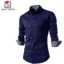 Мужская рубашка 2017 Camisas 4XL ZYM