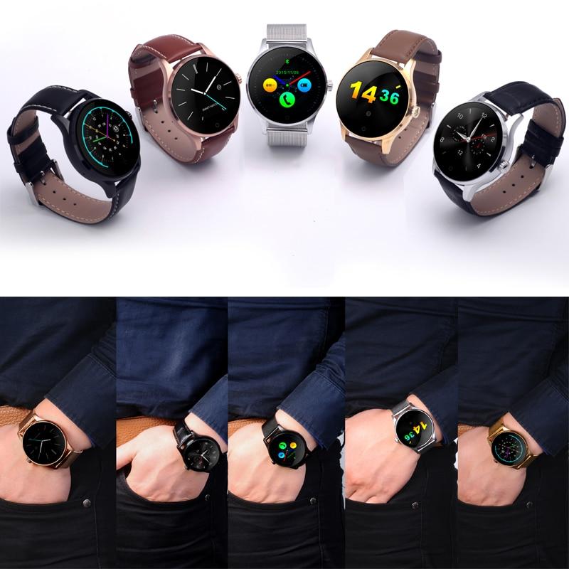 Reloj inteligente K88H Bluetooth MTK2502 control de voz reloj inteligente impermeable con podómetro de batería potente - 4