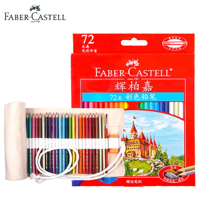 Faber Castell Premier Professional 72 Colored Pencil Pen Set ...