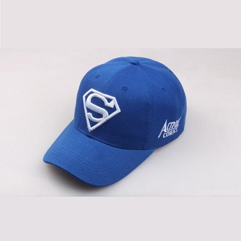 2019 New Letter Superman Cap Casual Outdoor Baseball Caps For Men Hats Women Snapback Caps For Adult Sun Hat Gorras