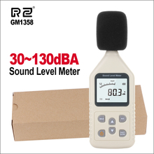 RZ Digital Sound Level Meter Meters Noise Tester In Decibels LCD A C FAST SLOW DB