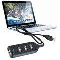 Magro Menor Mini 4 Portas USB 1.1 HUB USB de Alta Velocidade de Transferência De Rara para Laptop para PC est