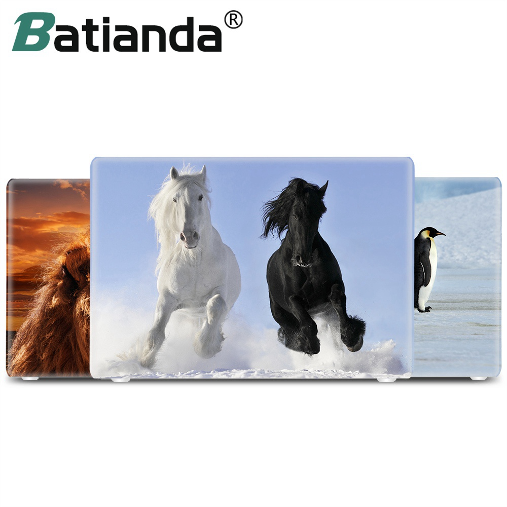 Animal Horse Penguin Polar Bear Sleeve Fodral till Macbook Pro 13 15 Retina Touch Bar Skrivskydd för Macbook Air 11 12 13 2018