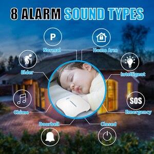 Image 2 - KERUI W1 Ansage Drahtlose WiFi PSTN Home Security Verknüpfung Alarm Anti theft Alarm System Kit mit Indoor Outdoor IP Kamera