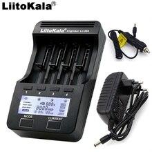 Liitokala lii 500 lii PD4 lii 300 Intelligente LCD Universale Li Ion NiMH AA AAA 10440 14500 16340 17335 17500 18650 Caricabatteria