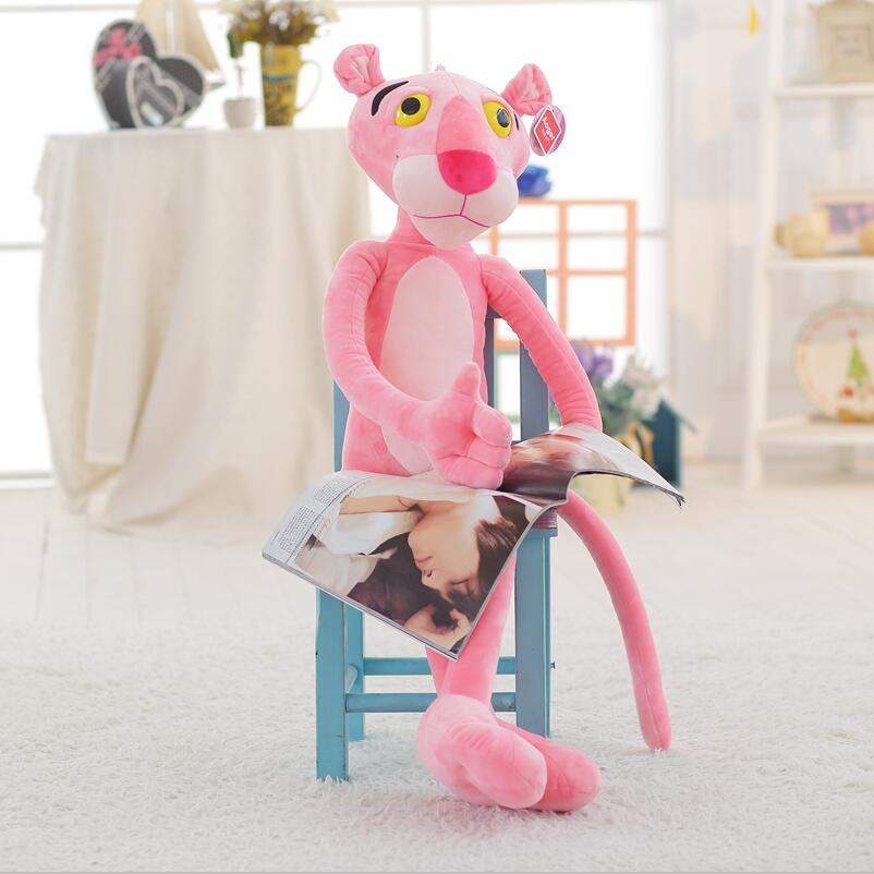 Original Pink Panther Plush Toys leopard Jaguar Children Dolls Christmas Presents Birthday Gifts 50CM Free Shipping