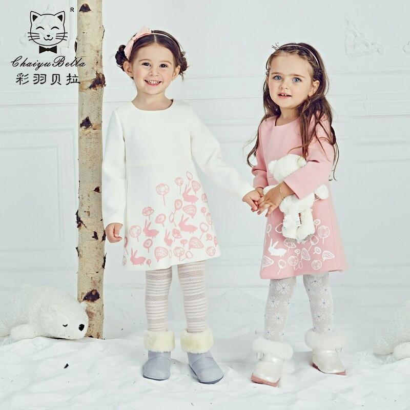 ФОТО 2016 autumn baby princess girl dress  pink and white coat