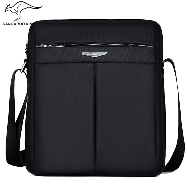 d02a89206d9 Kangaroo kingdom mode mannen tas nylon casual mannelijke crossbody schouder  messenger tassen zwart