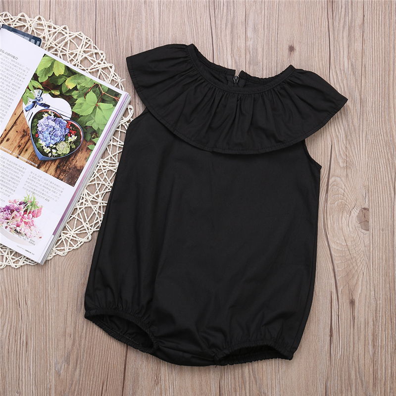 Fashion Casual Baby Girls Kids Clothes Romper Playsuit Jumpersuit Outfit Sunsuit 0-5Years
