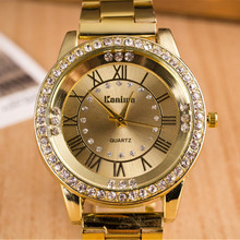 Модные золотые часы, Нежные мужские часы из нержавеющей стали, кварцевые роскошные наручные часы для мужчин, мужские часы