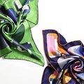 53*53 cm Bocoos clássico enigma formal de seda amoreira pequena toalha de rosto lenço de seda