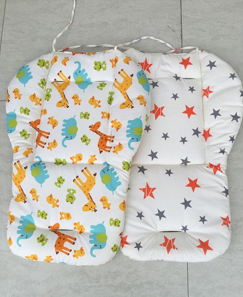 Универсальный мягкий хлопковый коврик для детской коляски сиденье